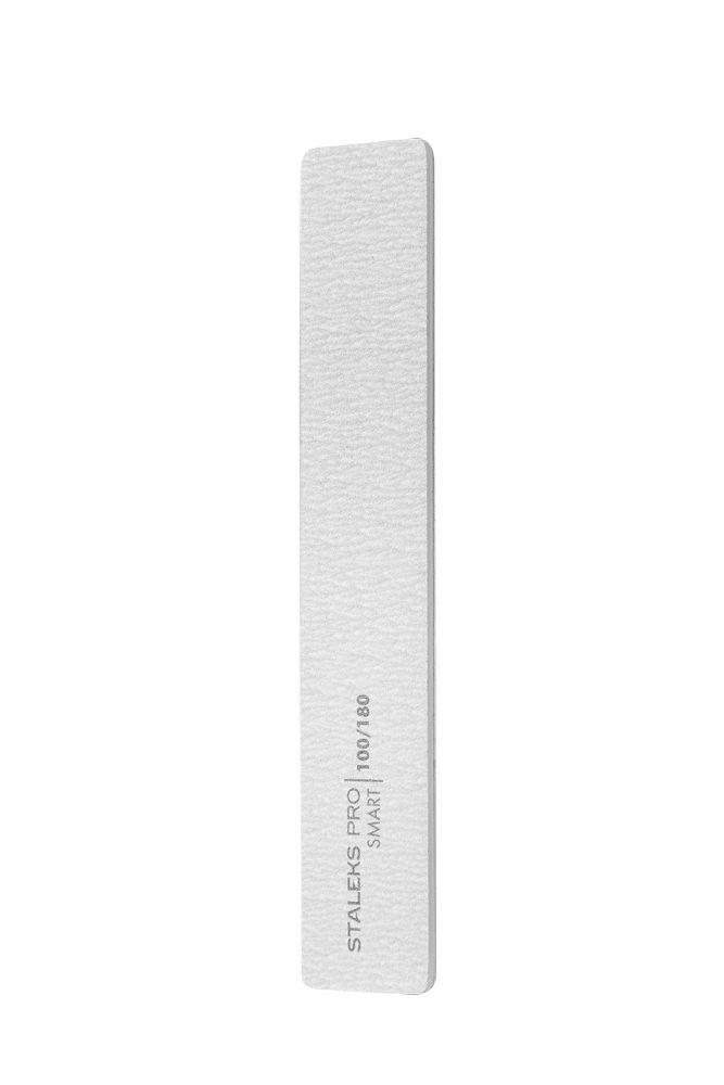 Пилка для ногтей минеральная (широкая прямая), Staleks Pro SMART (5шт.), 100/180 грит (Арт. NFB-31/1)