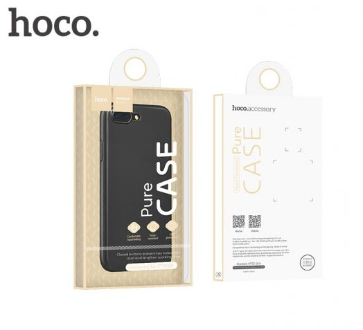 Защитный чехол HOCO Bode raise series для iPhone7 Plus/8 Plus, черный