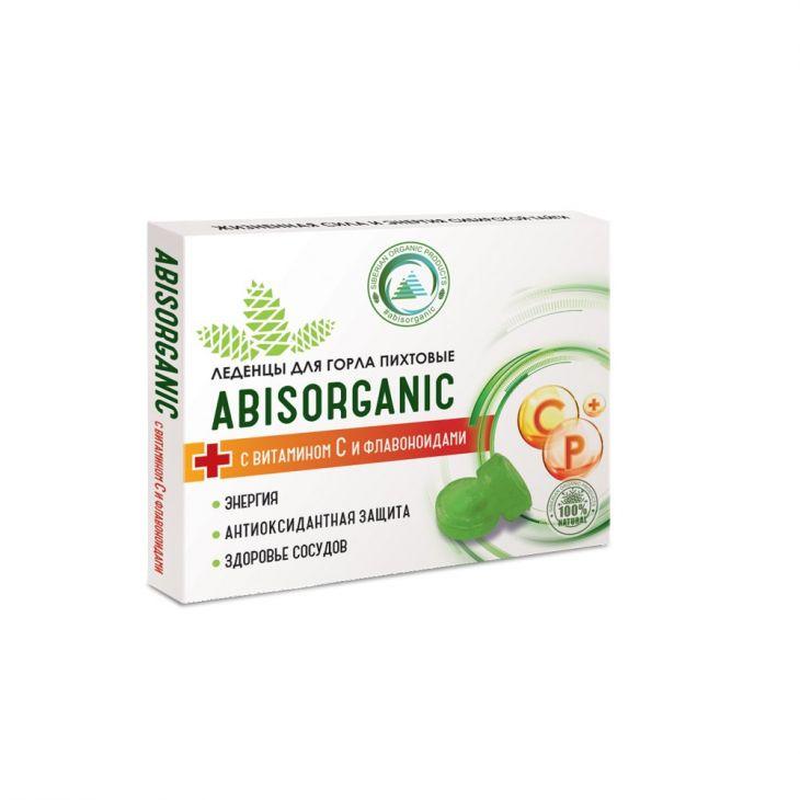 Леденцы пихтовые с витамином С и биофлавоноидами