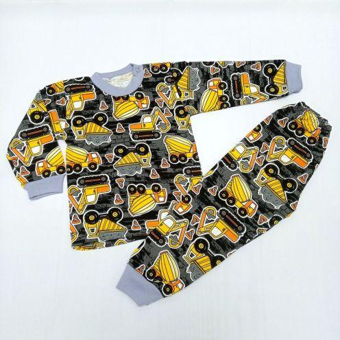Пижама для мальчика футер C-PJ023(2)-ITn