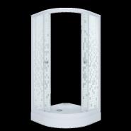 Душевой уголок Triton Стандарт Мозаика А1 100x100, низкий поддон