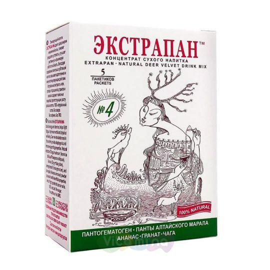 Экстрапан №4 - Тонизирующий напиток для профилактики опухолевых заболеваний