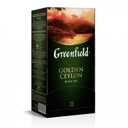 Чай Greenfield Golden Ceylon чрный 25 шт