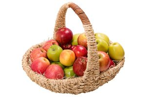 Яблочная корзинка
