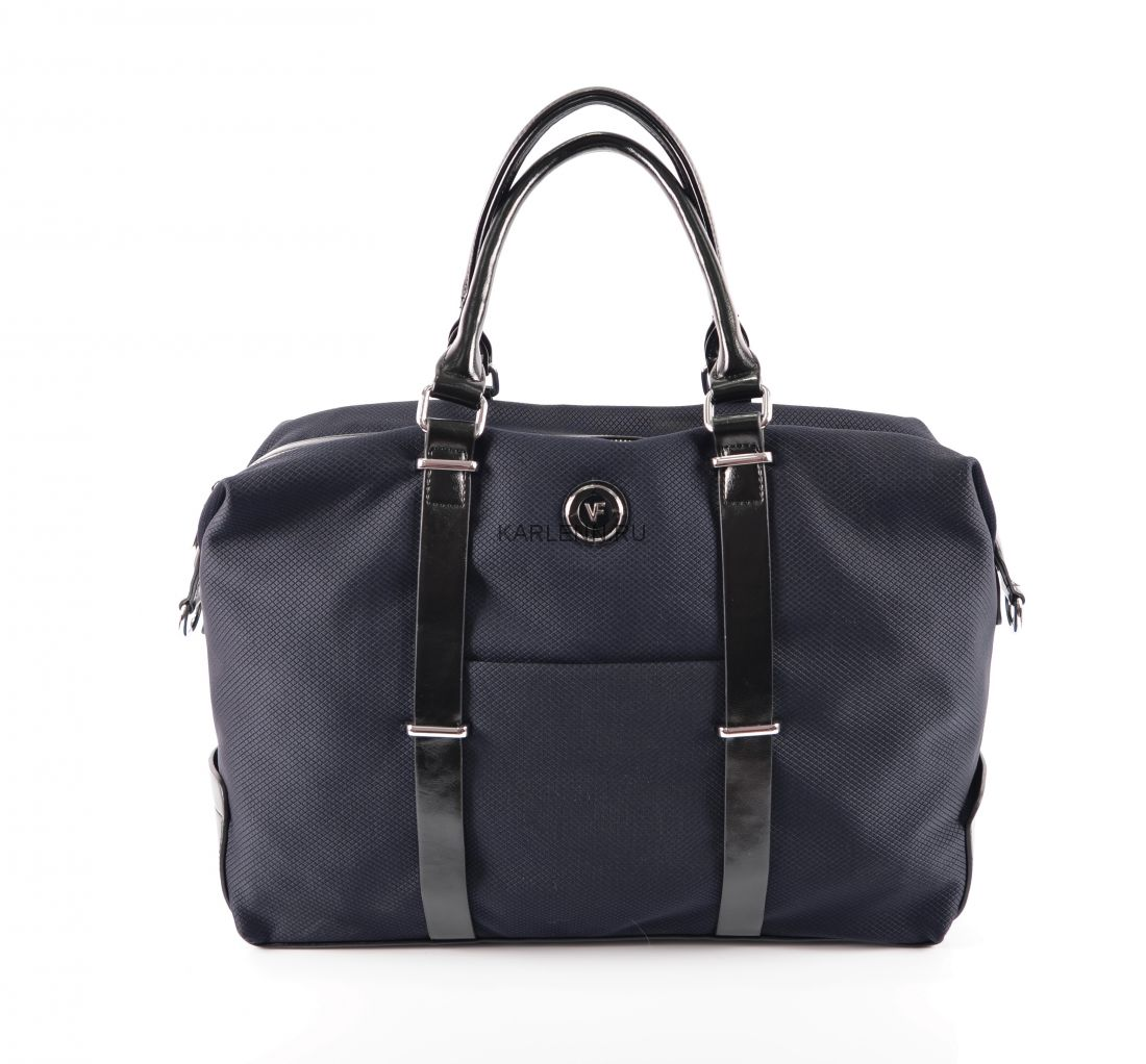 Дорожная сумка / для фитнеса Velina Fabbiano (синяя)