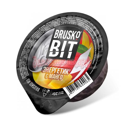 Бестабачная смесь Brusko Bit (Энергетик с манго) 20гр