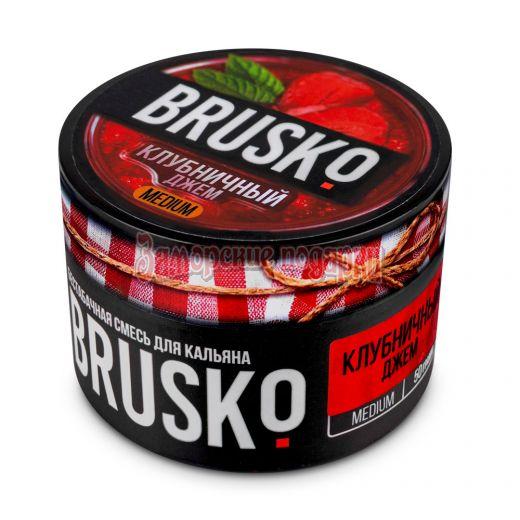 Бестабачная смесь Brusko (Клубничный джем) 50гр