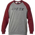 Fox Apex Crew Fleece Grey/Red толстовка