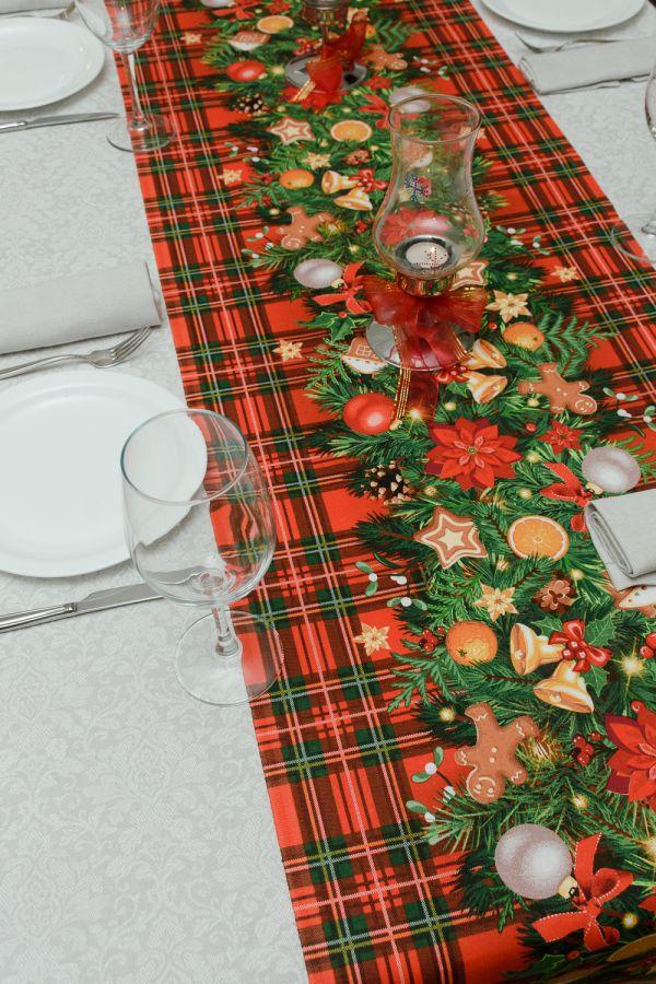 Набор столовый 32651 150*120 [красный]