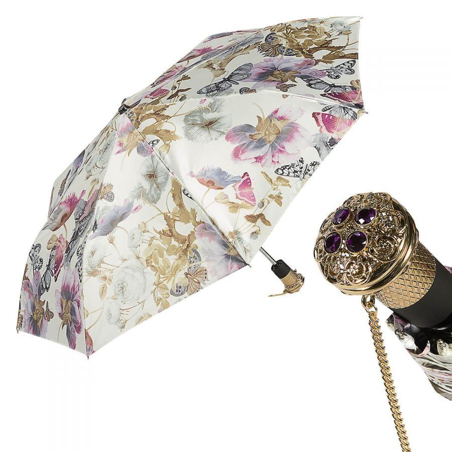 Зонт складной Pasotti Auto Butterfly Lux