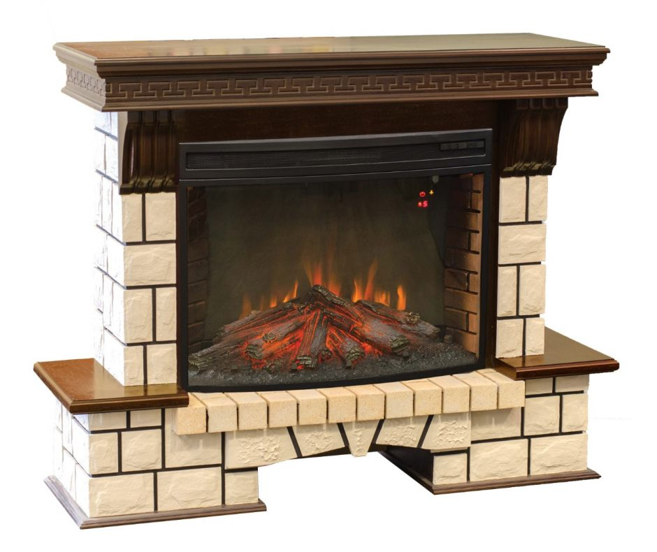 RealFlame Stone New 33 AO с FireSpace 33 S IR