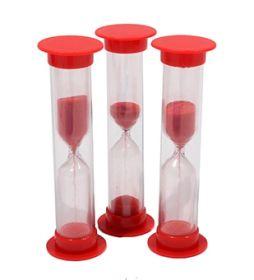 Песочные часы (1мин. цвет красный. песок красный) (арт. ПЧ-6067)