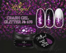 678 CRUSH GEL ROYAL 5 мл