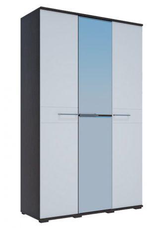 ЛУИЗА шкаф 3-х створчатый МДФ + одно зеркало