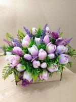 мыльные тюльпаны