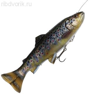 Приманка SG 4D Pulsetail Trout 16 Brown Trout 61977