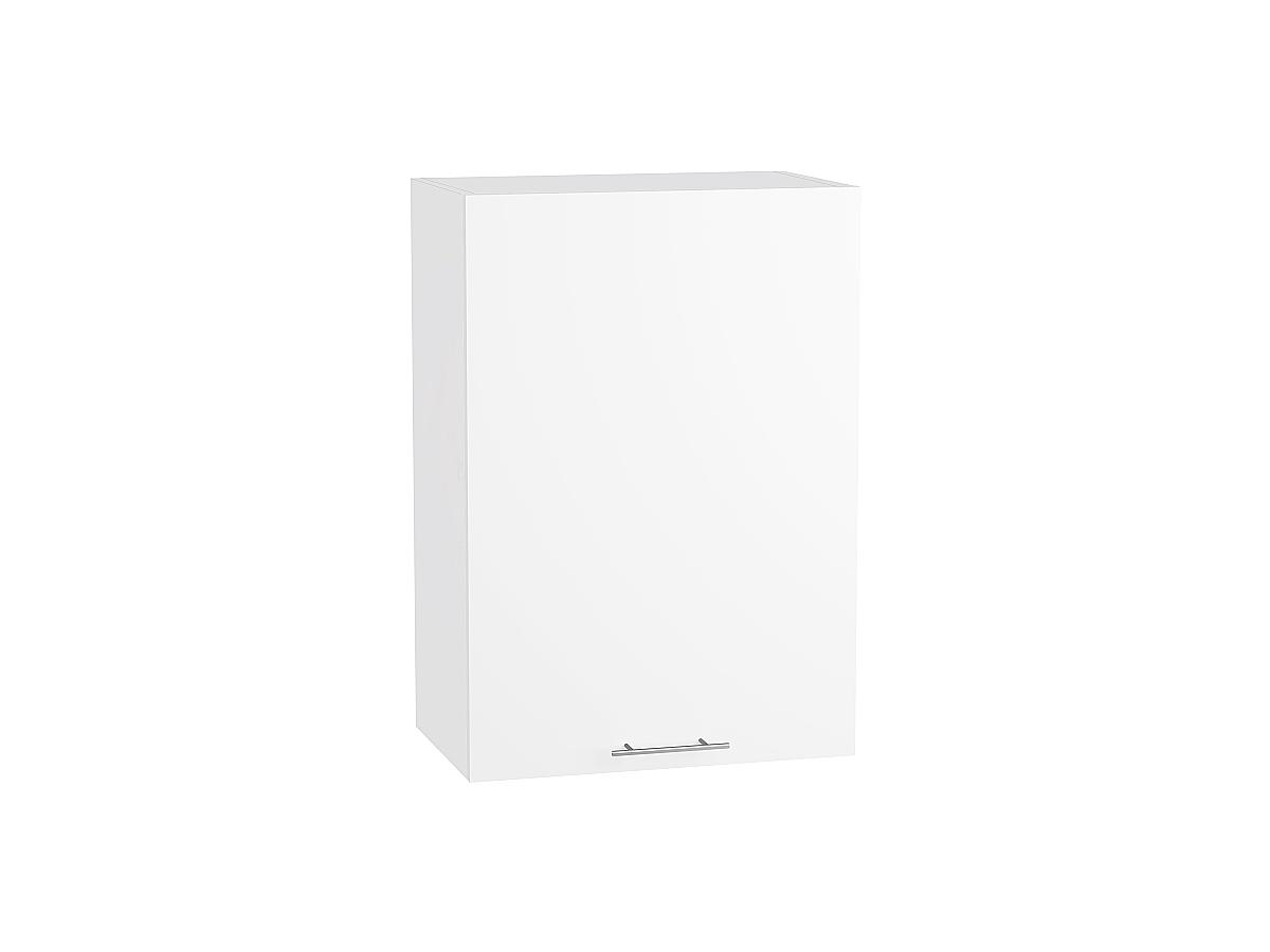 Шкаф верхний Валерия В609-Ф46Н белый глянец