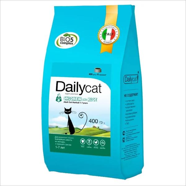 Сухой корм для кошек DailyCat Adult Chicken & Rice с курицей и рисом