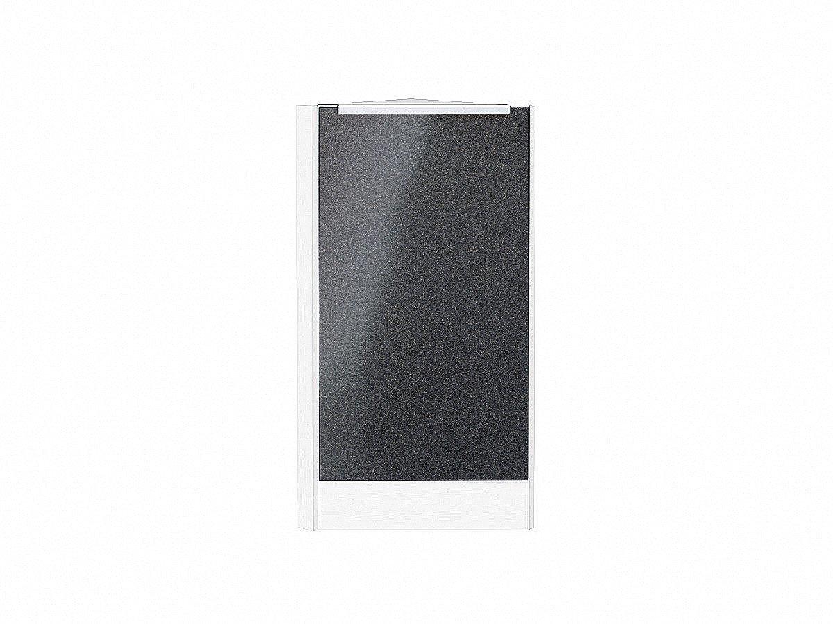 Шкаф нижний торцевой Фьюжн НТ300 Anthracite