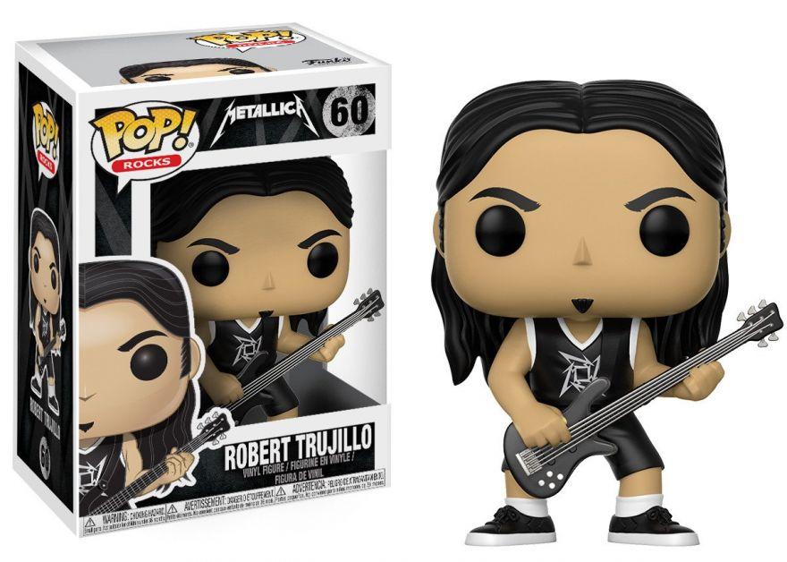 Фигурка Funko POP! Vinyl: Rocks: Metallica: Robert Trujillo 13809
