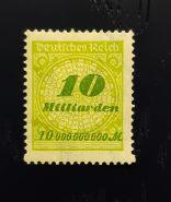 10 миллиардов 1923 г. Германия. Веймарская республика