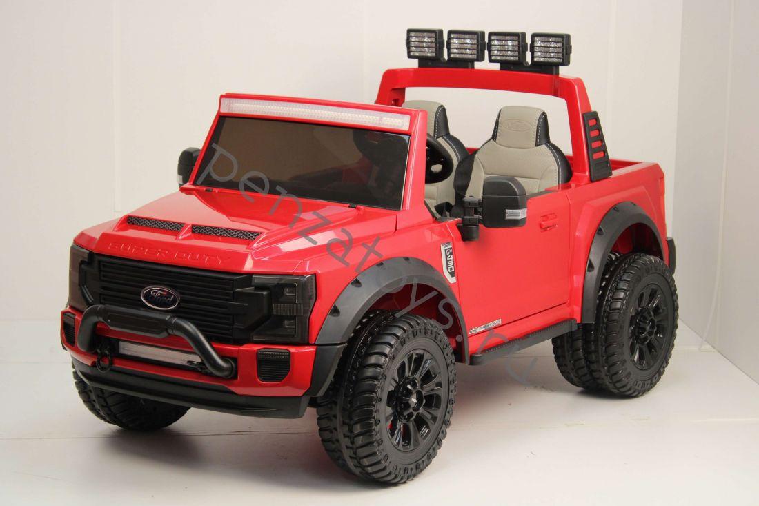 Детский Электромобиль Ford Super Duty A888MP Двухместный