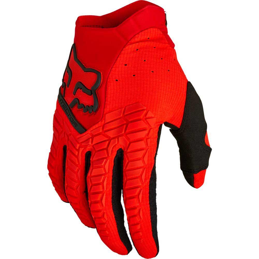Fox Pawtector Flo Red (2022) перчатки для мотокросса