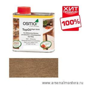 Масло с твердым воском TOPOIL для мебели и столешниц Osmo 3061 цвет Акация 0.5 л Osmo-3061-0,5 ХИТ!