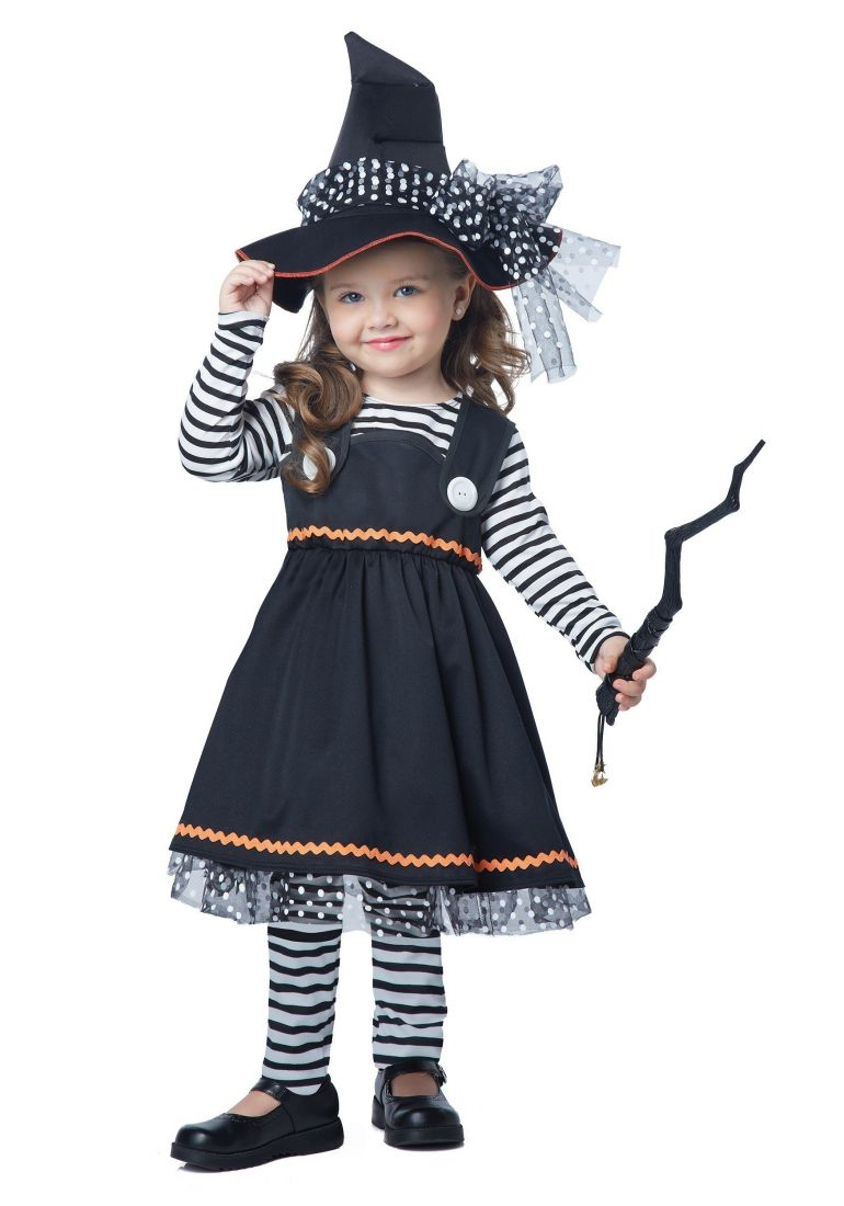 Детский костюм коварной ведьмочки