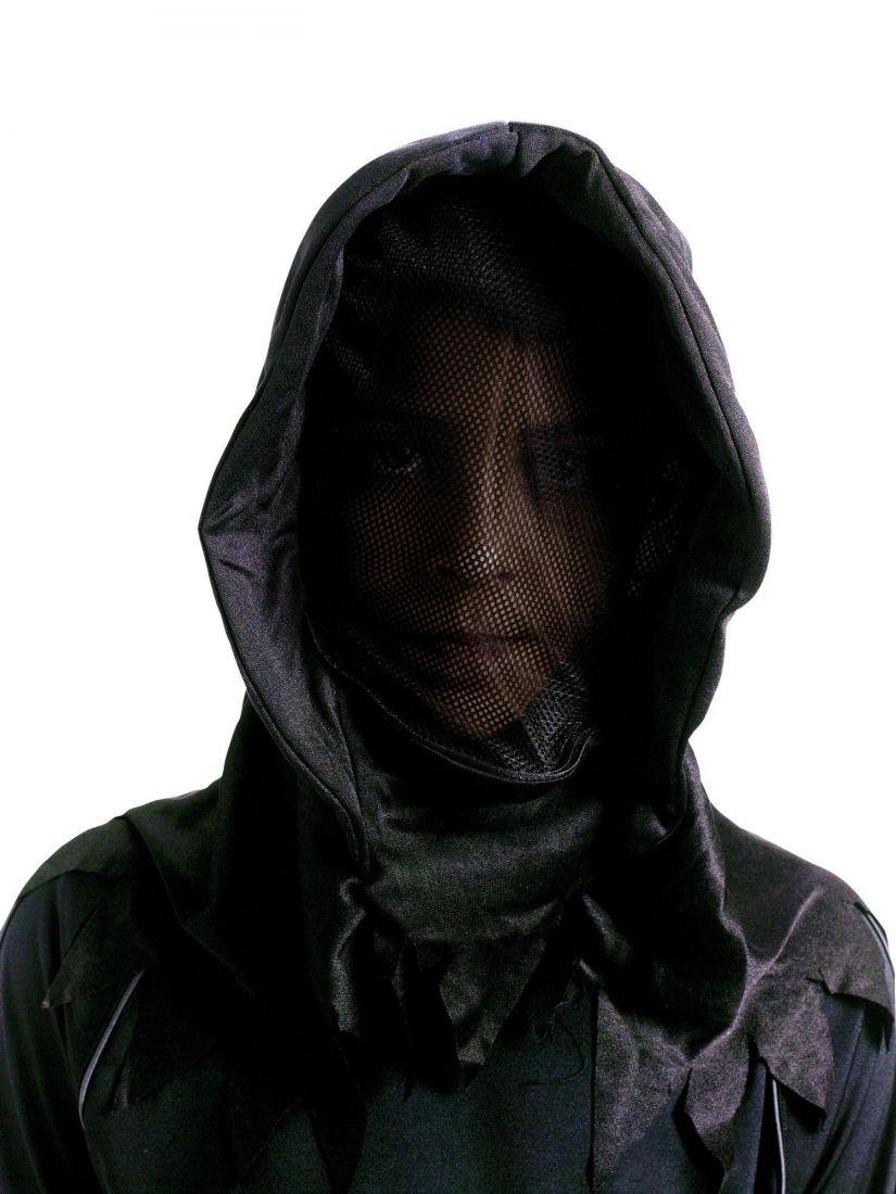 Детский черный костюм Фантома