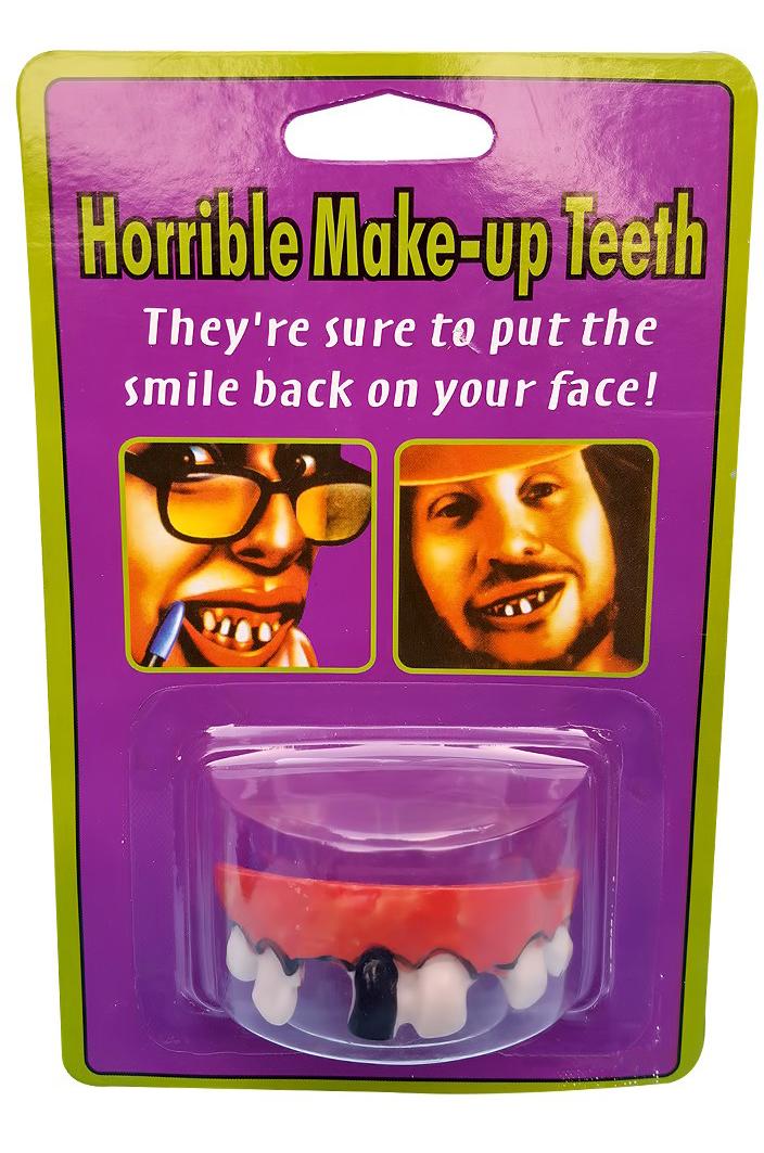 Гнилые зубы бродяги