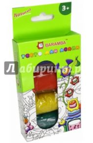 Тесто-пластилин для лепки, 4 цвета (BB4100)