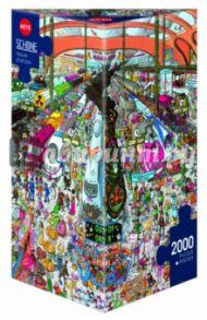 """Puzzle-2000 """"Железнодорожный вокзал"""" (29730)"""