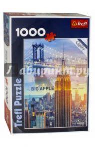 """Puzzle-1000 """"Нью-Йорк на рассвет-коллаж"""" (10393)"""