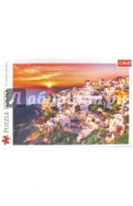 """Trefl Puzzle-1000 """"Закат на Санторини"""" (10435)"""