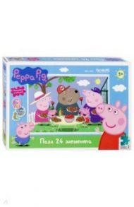 """Пазл-24 """"Peppa Pig. Отдых на природе"""" (04286)"""