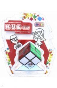 """Головоломка """"Куб"""" (2х2, черный) (CB2201)"""