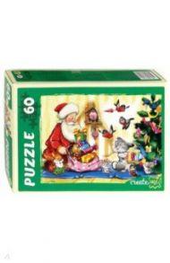 """Puzzle-60 """"Новогодние подарки"""" (П60-7534)"""