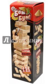 Бам-бум. Падающая башня с фантами. Настольная игра (01741)