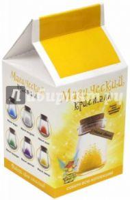 Набор для выращивания кристалла. Магический кристалл. Магия света. Желтый (m6)
