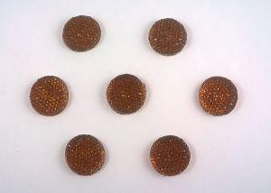Кабошон (пластик), размер 20мм (1уп=100шт), Арт. КБП0028-20