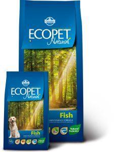 Ecopet Natural Fish Maxi (Экопет Нэчурал Макси для крупных собак с рыбой)