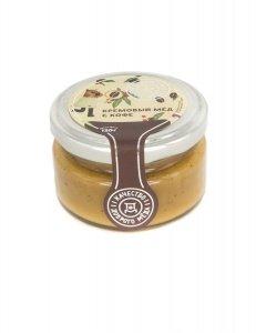 Крем-мед с кофе 120 гр, стеклянная банка