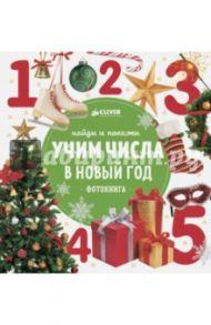 Найди и покажи. Учим числа в Новый год