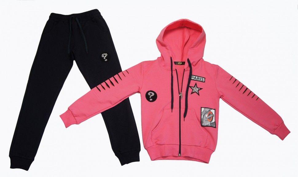 Спортивный костюм для девочки 13-16 (розовый)