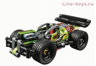 Конструктор Lari Техника Зеленый гоночный автомобиль 10820 (42072) 135 дет