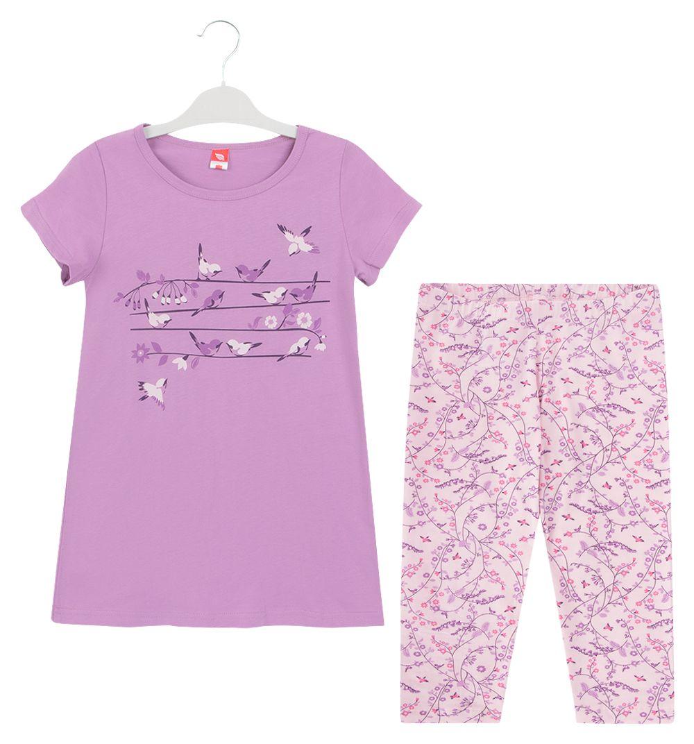 Пижама для девочки Соловьиная трель