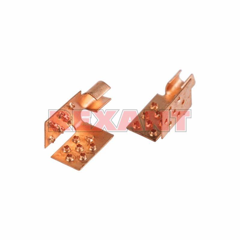 Монтажный зажим для пленочного пола Rexant 51-0504-5