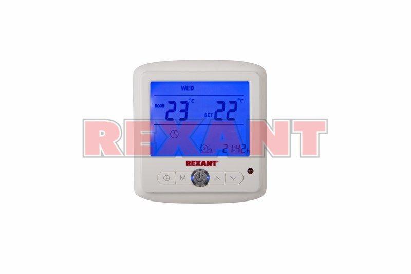 Терморегулятор Rexant электронный программируемый 51-0560