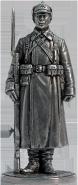 Красноармеец РККА в зимней походной форме. 1941 г. СССР (олово)